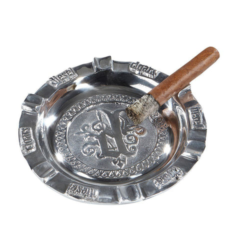 Image of Diesel Pewter 6-Finger Cigar Ashtray - Shades of Havana