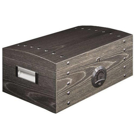 Image of Don Salvatore Ashwood Chest Humidor 120 Cigar Capacity - Shades of Havana