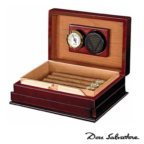 Image of Don Salvatore Secret 146 Humidor | 12 Cigar Count - Shades of Havana