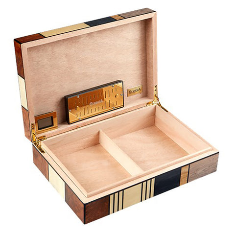 Gurkha Art Deco Humidor - Patches 40 Cigar Capacity