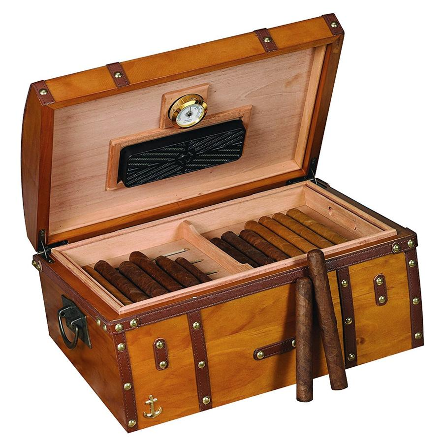 Humidor Supreme Gold Rush Antique Humidor - Shades of Havana