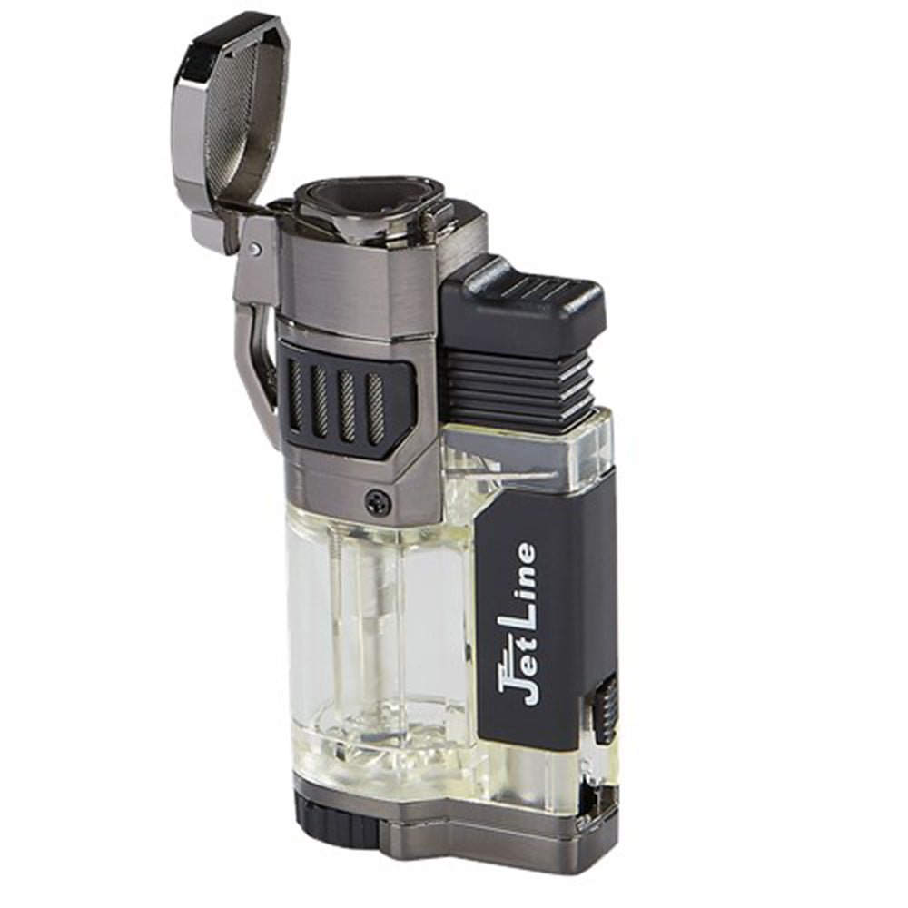 JetLine Diego Triple Flame Torch Lighter - Shades of Havana