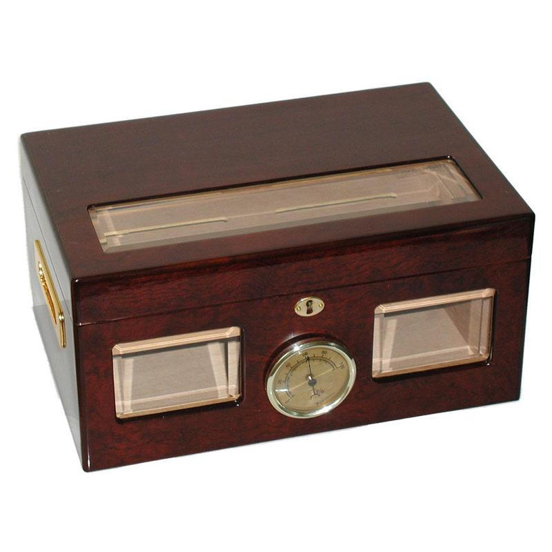 Versailles Glass Top Humidor 100 Cigar Count