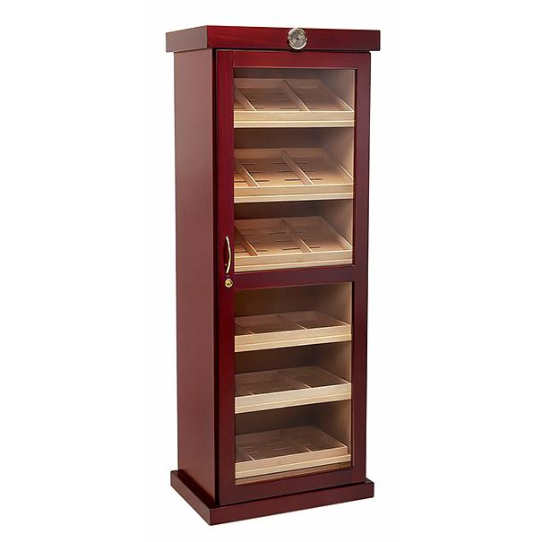 Barbatus Humidor Cabinet 2000 Cigar Count | 12 Humidifiers - Shades of Havana