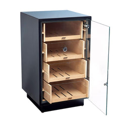 Manchester Electronic Humidor Cabinet 250 Cigar Count | Optional Rotating Base