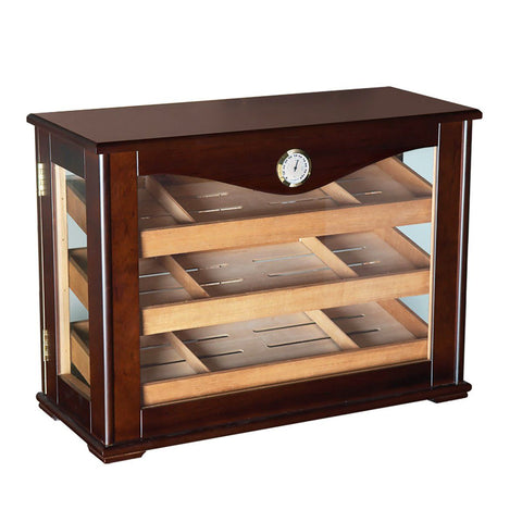 Marciano - Cigar Humidor Cabinet - 250 Cigars - Countertop Display - Prestige Import - Shades of Havana