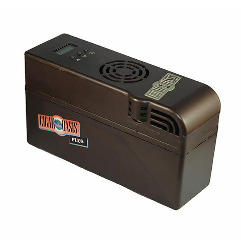 OASIS PLUS - Electric Cigar Humidifier - Auto Humidity Control - WIFI Capable - Shades of Havana