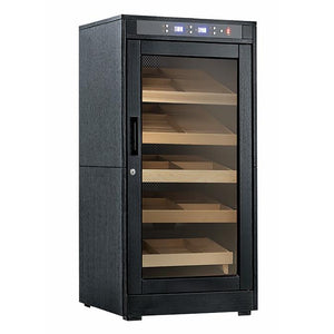 Redford Lite 1250 Cigar Count Electronic Humidor Cabinet | Electric Humidifier - Shades of Havana