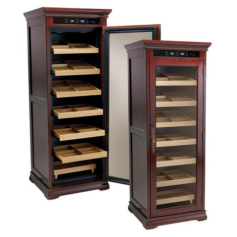 Remington 2000 Cigar Count Electronic Humidor Cabinet | Electric Humidifier - Shades of Havana