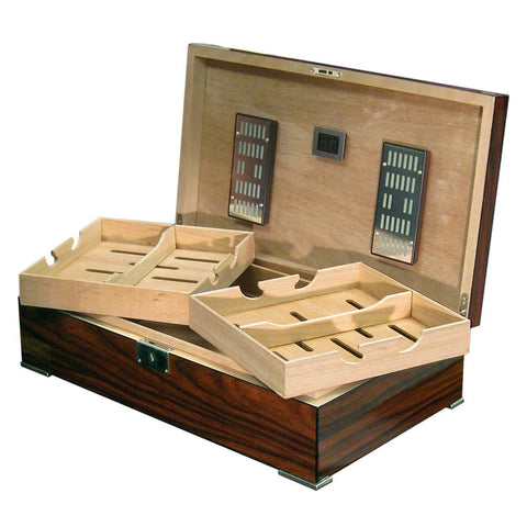 Image of Salvador 250 Cigar Count Humidor | Slim Design - Shades of Havana