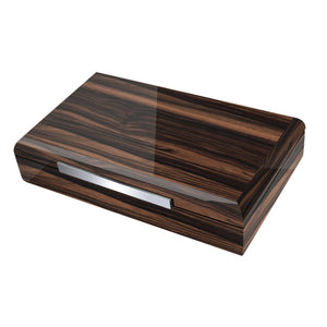Vanderbilt Electronic Humidor - Ebony Wood Finish 120 Cigar Capacity - Shades of Havana