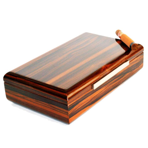 Image of Vanderbilt Electronic Humidor - Ebony Wood Finish 120 Cigar Capacity
