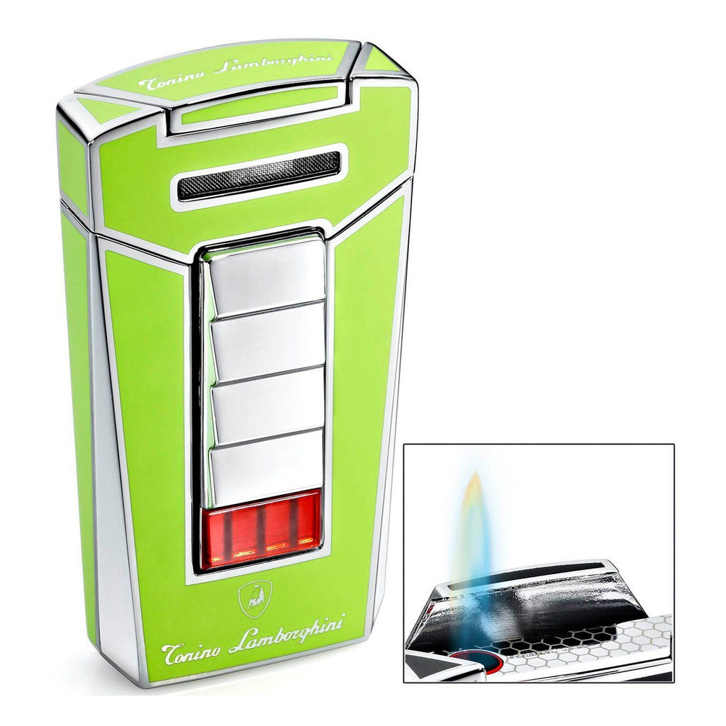 Aero - Green Torch Flame Cigar Lighter - Tonino Lamborghini - Shades of Havana