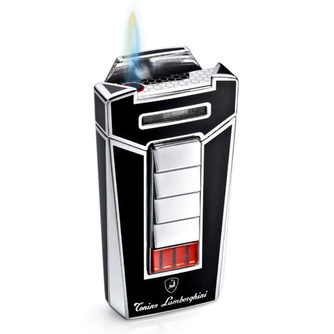 Image of Aero - Black Torch Flame Cigar Lighter - Tonino Lamborghini - Shades of Havana