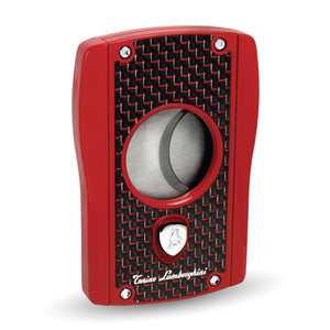 Aldebaran - Red Matte Carbon Fiber Cigar Cutter - Tonino Lamborghini - Shades of Havana