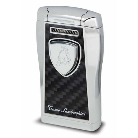 Argo Lighter - Black with Black Carbon Fiber - Tonino Lamborghini - Shades of Havana