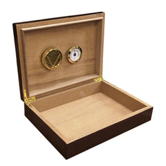 Bellevue - Dark Walnut Cigar Humidor - 25 Cigars - Prestige Import Group