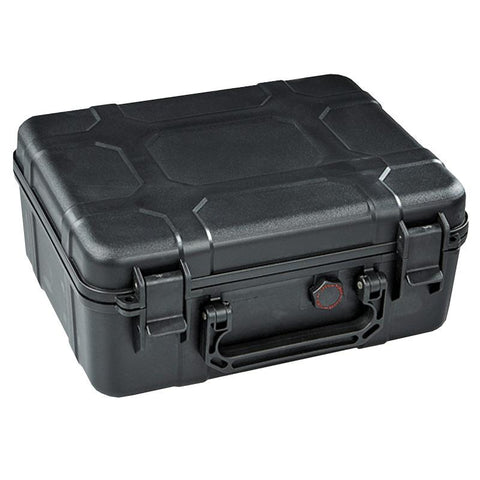 Image of Black Ops Travel Humidor | Black Travel Case 40 Cigar Count - Shades of Havana