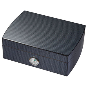 Blackburn Carbon Fiber Humidor 25 Cigar Count - Shades of Havana