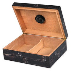 Blood Red Moon Humidor 100 Cigar Count with Brand Art