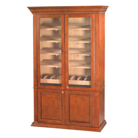 Image of Burbank Deluxe Cabinet Humidor 5000 Cigar Count - Shades of Havana