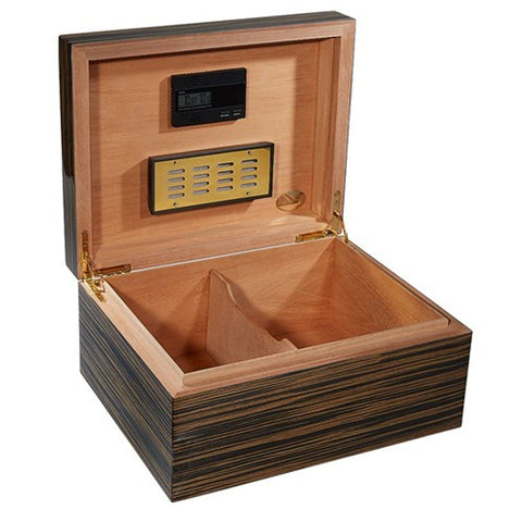 Image of Don Salvatore Cameroon Humidor - Limited Edition - Holds 60 Cigars - Shades of Havana