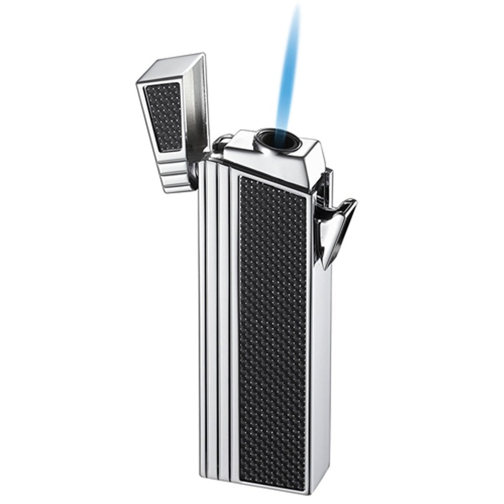 Caseti Lighter - Double Designed Compact Torch Flame Lighter - Shades of Havana