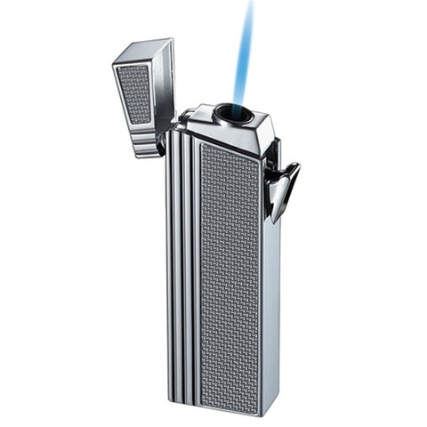 Image of Caseti Lighter - Double Designed Compact Torch Flame Lighter - Shades of Havana