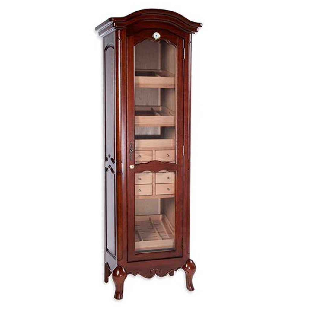 Chancellor Antique Humidor Cabinet 3000 Cigar Count - Shades of Havana