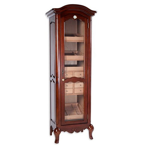 Chancellor Antique Tower Humidor - Holds 3000 Cigars - Shades of Havana