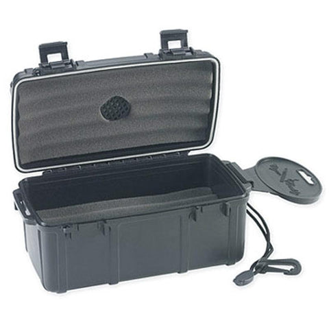 Image of Cigar Caddy 15 Stick Travel Humidor - Hard Case Humidor - Shades of Havana