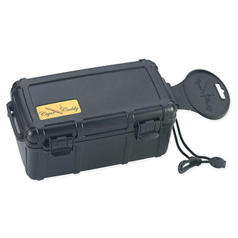 Cigar Caddy 15 Stick Travel Humidor - Hard Case Humidor