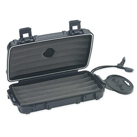 Cigar Caddy 5 Stick Travel Humidor - Hard Case Humidor
