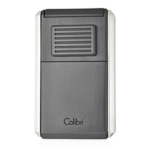 Colibri Astoria - Triple Jet Flame Lighter (with Fold-Out Cigar Cutter) - Shades of Havana