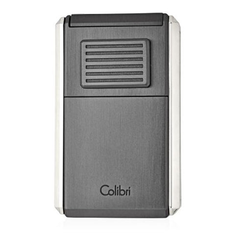 Image of Colibri Astoria - Triple Jet Flame Lighter (with Fold-Out Cigar Cutter) - Shades of Havana
