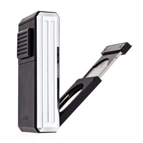 Colibri Astoria - Triple Jet Flame Lighter (with Fold-Out Cigar Cutter)