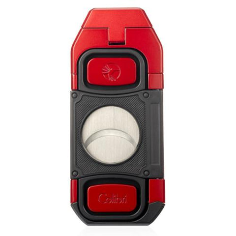 Image of Colibri Boss - Triple Jet Flame Lighter with Double Guillotine Cigar Cutter - Shades of Havana