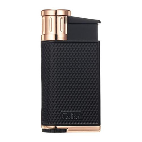 Colibri Evo - Single Jet Flame Lighter - Shades of Havana