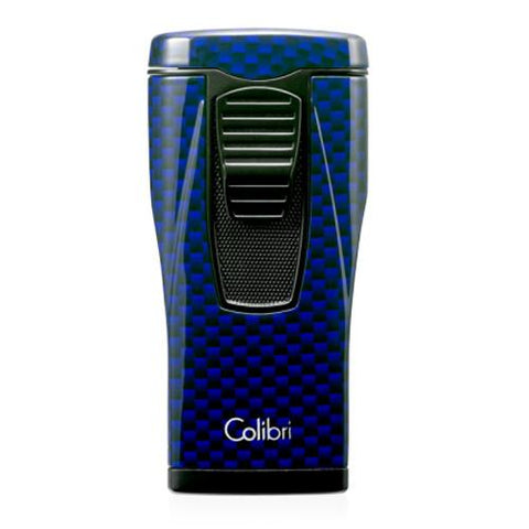 Colibri Monaco - Carbon Fiber Lighter - Triple Jet Flame Lighter - Shades of Havana