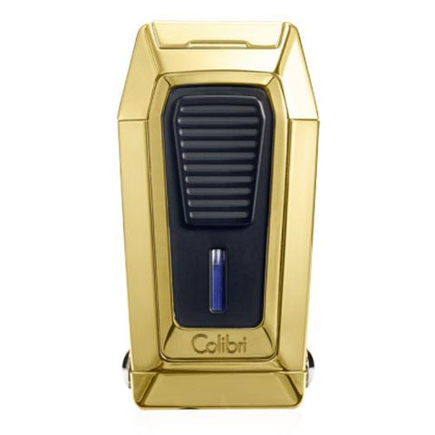 Image of Colibri Gotham - Triple Flame Lighter With V-Cutter - Shades of Havana