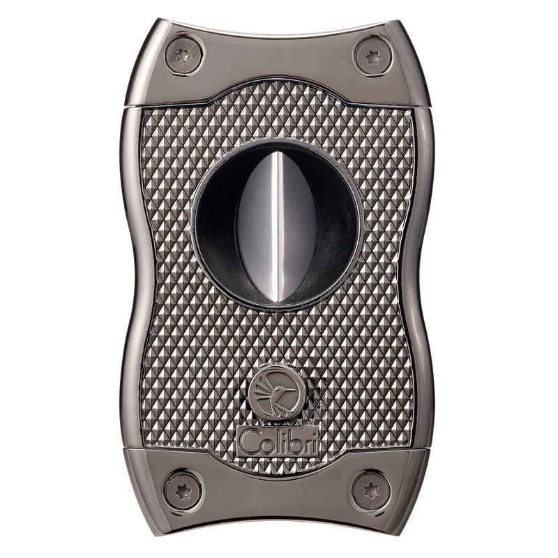 Colibri SV Two-In-One Cigar Cutter - 68-70 Ring - Shades of Havana