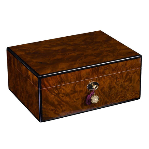 Image of Daniel Marshall Humidor Signature 100 Burl - Shades of Havana