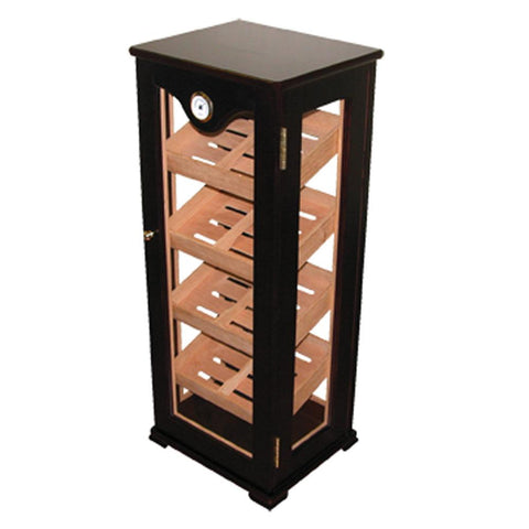 Deluxe Vertical Commercial Humidor Display | 100 Cigar Count - Shades of Havana