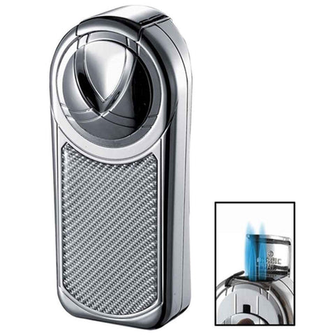 Dobrev III Triple Jet Flame Torch Lighter - Shades of Havana
