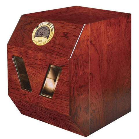 Image of Don Salvatore Aficiando Cabinet Humidor | 90 Cigar Count - Shades of Havana