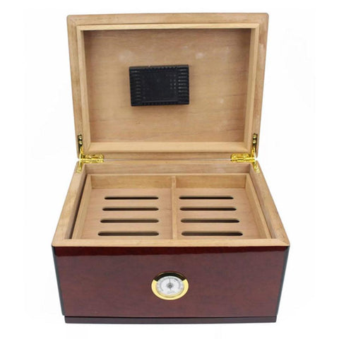 Don Salvatore Carosello Humidor 50 Cigar Count - Shades of Havana