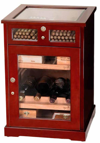 Don Salvatore Cabinet Humidor Havana Cigar Cafe Display - Shades of Havana