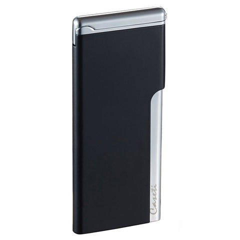 Image of Elegante - Ultra-Slim Torch Lighter - Black Matte - Caseti - Shades of Havana