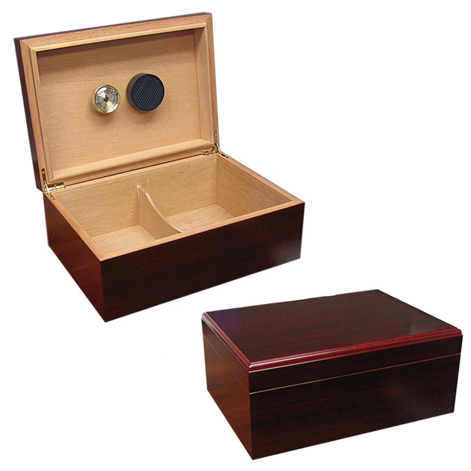 Executive Cherry Cigar Humidor 50 Cigar Count - Shades of Havana