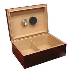 Executive - Cherry Cigar Humidor - 50 Cigars - Prestige Import Group